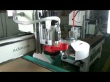 Automatic Tool Changer CNC Router 4x8ft ,Wood CNC Router From China-Skype:jackkong66