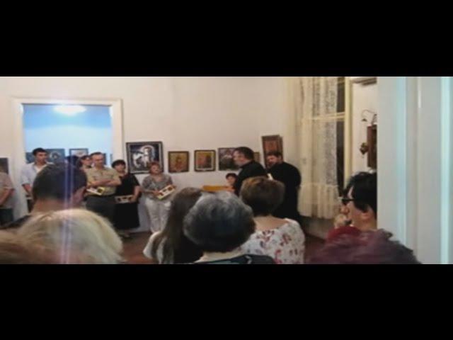 Otvaranje izložbe slika u Duhovnom centru, Zrenjanin 26.08.2015
