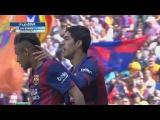 Luis Suarez Goal ~ FC Barcelona vs Valencia 1:0 La Liga 2015 HD 18/04/2015
