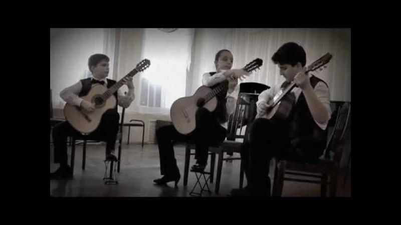 О.Киселев «Маленький джазмен» - трио «Шоро». O.Kiselev «The Little Jazzman» -- trio «Shoro»