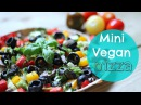 Vegan Pizza Recipe | Healthy Lunch Ideas