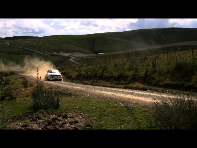 Крис Харрис на раллийном BMW 3 e30