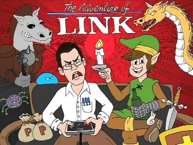 Zelda 2 The Adventure of Link AVGN 93 RUS RVV
