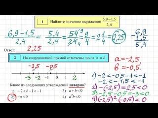 Подготовка к ГИА (ОГЭ) 2015 по математике #1
