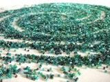 Голубая ель. Урок 2 - Замес бисера  Blue spruce. Lesson 2 - Bead mix