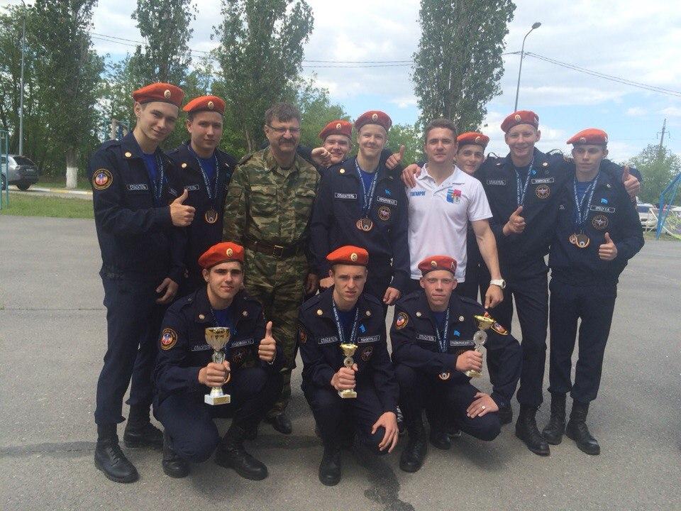 Таганрожцы заняли третье место на Спартакиаде допризывной и призывной молодежи