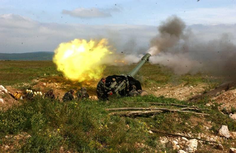 В соседнем с Таганрогом Куйбышевском районе  найден современный снаряд от гаубицы Д-30