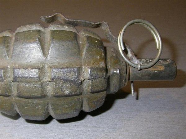 В Таганроге в Некрасовском переулке найдена граната Ф-1