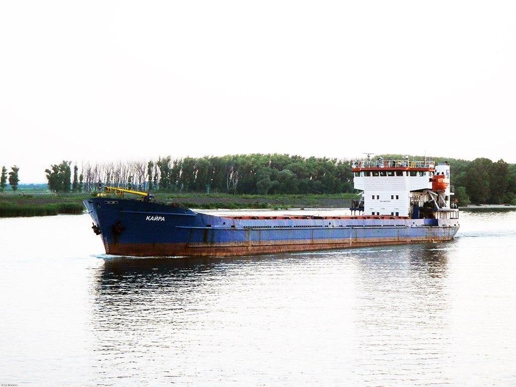 Российское судно «Кайра», приписанное к Таганрогскому порту, вместе с экипажем находится в «заложниках» у Турции