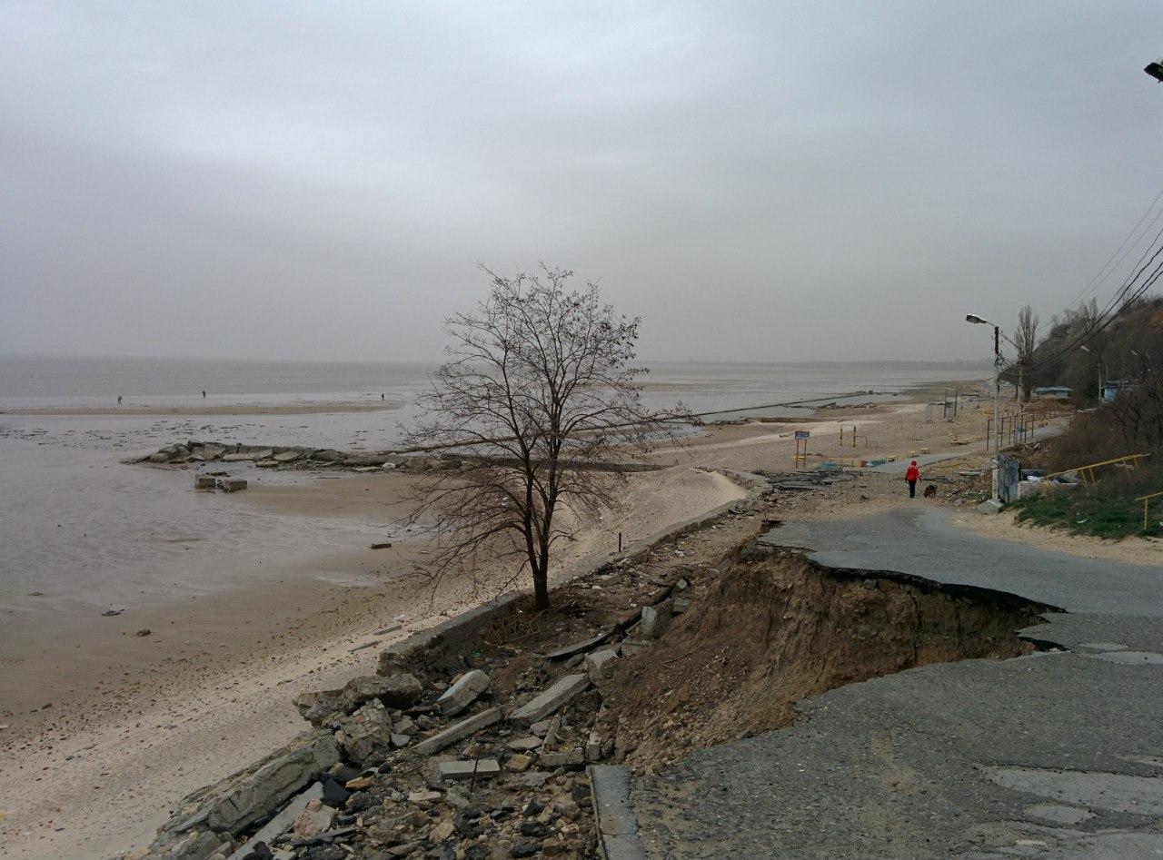Пляжи Таганрога оставляют желать лучшего