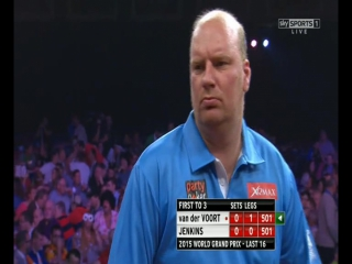 Vincent van der Voort vs Terry Jenkins (World Grand Prix 2015 / Round 2)