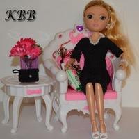 вязаная одежда для кукол Knitting For Dolls вконтакте