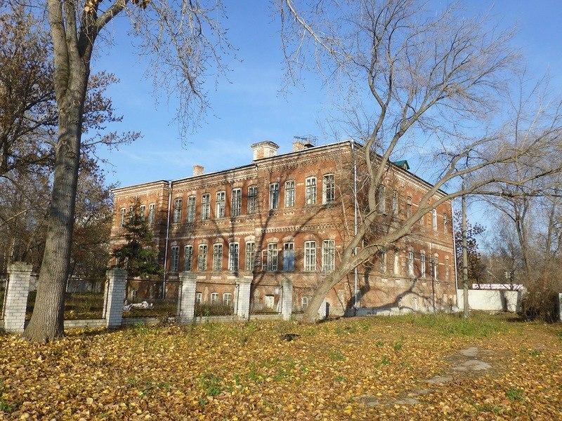 Старый корпус Самарской областной психиатрической больницы.