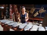 ...вьетнамская каменная музыка..