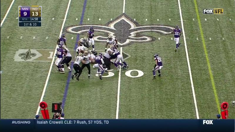 NFL 2014-2015, Week 03, 21.09.2014, Minnesota Vikings - New Orleans Saints, 2 половина, EN, Американский футбол