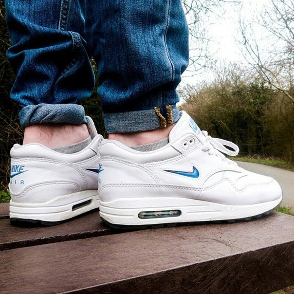 nike air max 1 leather jewel