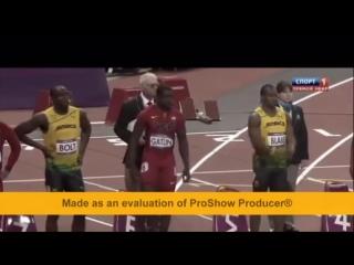 Усейн Болт мировой рекорд по бегу на 100 метров