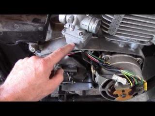 регулировка и ремонт мотоцикла motorcycle JAWA 638 Ява (электронное зажигание.карбюратор...)