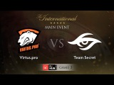 Virtus.pro -vs- Secret, TI5 Main Event, LB Round 3, Game 3