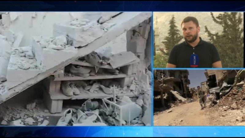 Вести.Ru: Ситуация в Сирии. Репортаж Евгения Поддубного из Дамаска
