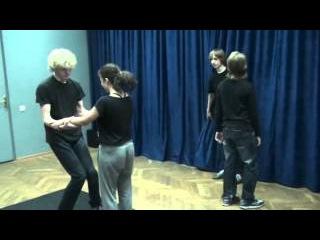 открытый урок по сценическому движению 2014