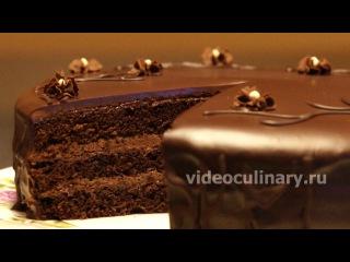 (vk.com/LakomkaVK)   Простой шоколадный бисквитный торт - Рецепт Бабушки Эммы