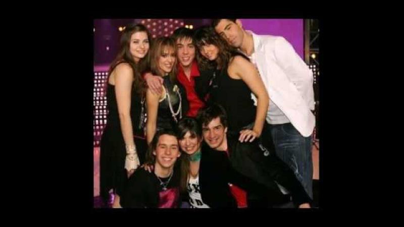 Gregory avec Mathieu, Hoda, Sandy, Sofiane,Lucie et Michel Sardou - La maladie d'amour .avi