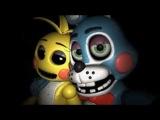 FNAF 2 Toy Bonnie x Toy Chica- Dark Paradise