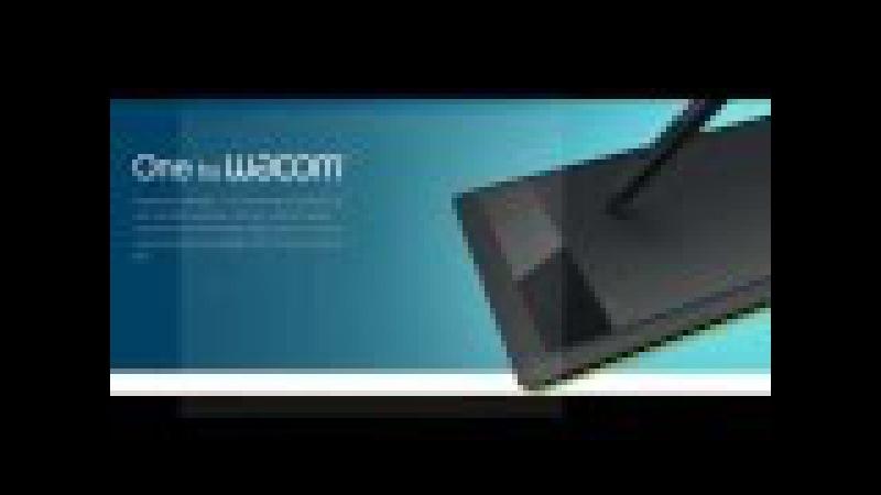One by Wacom Small [STL-471] Обзор Графического Планшета