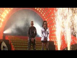 RAY &amp ANITA (2 UNLIMITED) Twilight Zone (Ethias Arena Hasselt 2009)