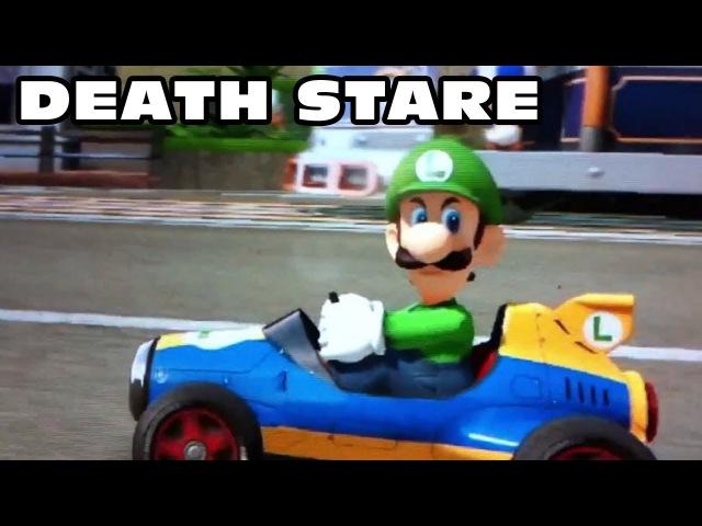 Mario Kart 8 - Luigi Death Stare Compilation