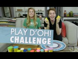 PLAY D'OH CHALLENGE w SHANE DAWSON Grace Helbig