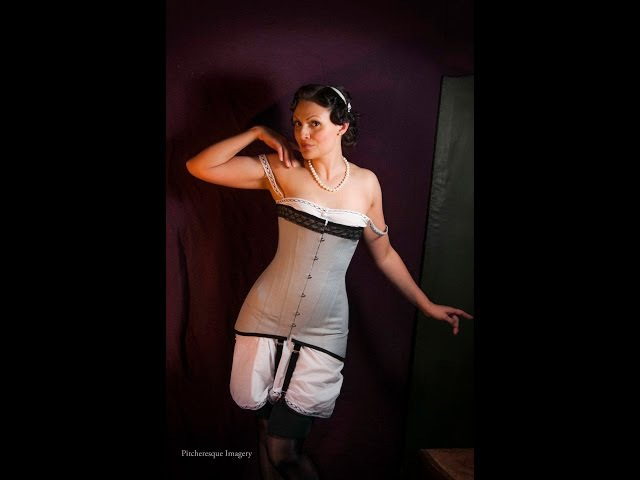 Making WWI corset