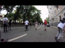 Скейтеры захватили Москву / Wild in the streets Moscow, Russia
