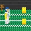 Бег с препятствиями (Minifigures Bricks Yards )