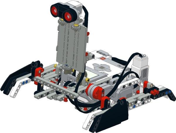 из стартового набора LEGO
