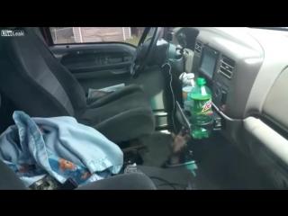 Лайфхак. Когда забыл ключи в машине, а она закрылась.