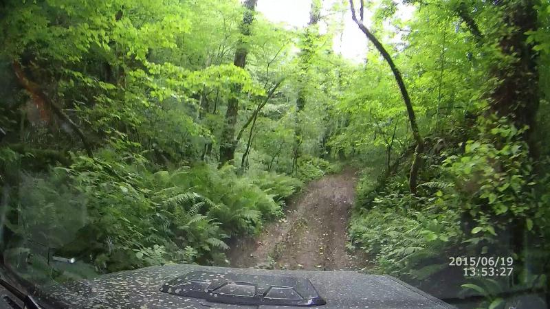 Дорога на озеро Амткел, Абхазия