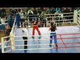 WPKA 2015 Чемпіонат України Ігнатенко Іра Фул-контакт м.Харьків