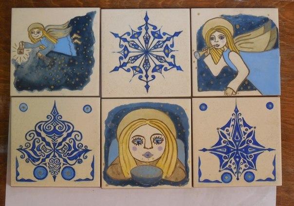 Керамические открыточки от мастерской «Самоварт»