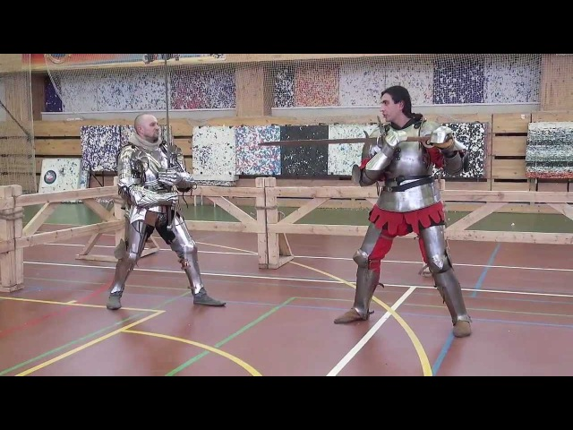 Двуруч мастер класс Фролов-Маневич Twohanded swords tournament Russia