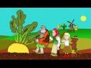 Мультфильм Репка  - Русская народная сказка для самых маленьких детей