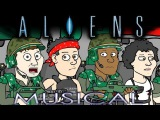 ♪ ALIENS THE MUSICAL - Animation Parody