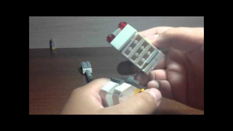 Lego обзор самоделки из игры walking war robots Shutze 2 пушки