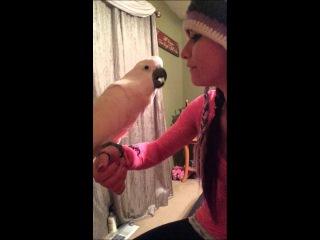 Arguing with Gotcha the Cockatoo