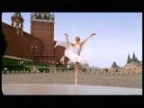 Балет на фоне Кремля Anastasia Volochkova Russian Dance