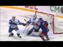 Шварны блокирует два броска подряд / Svarny blocks two hard shots in a row with his knees