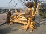 Интересное! На что способны станки с ЧПУ.  Искусство застывшее в дереве и металле.