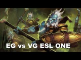 EG vs VG - ESL One Frankfurt 2015 Dota 2