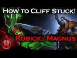 Dota 2 Fails - How to Cliff Stuck!